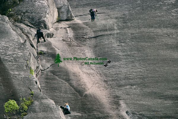 Rock Climbers, Stawamus Chief, Squamish, British Columbia, Canada CM11-06