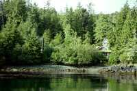 Rose Harbour House, Gwaii Haanas National Park Reserve, Haida Gwaii, British Columbia, Canada CM11-03