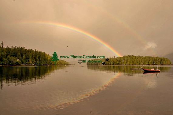 Rose Harbour Rainbows, Gwaii Haanas National Park Reserve, Haida Gwaii, British Columbia, Canada CM11-03