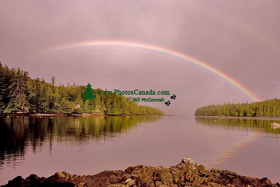 Rose Harbour Rainbow, Gwaii Haanas National Park Reserve, Haida Gwaii, British Columbia, Canada CM11-01