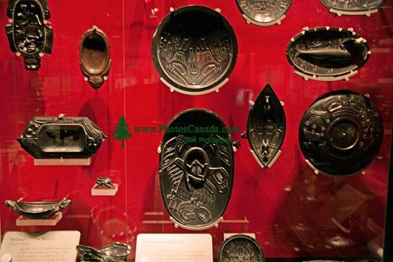 Royal BC Museum Photos, Argillite Carvings, Victoria, British Columbia, Canada CM11-10
