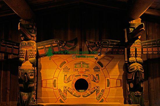 Royal BC Museum Photos, Chief Kwakwabalasam House, Victoria, British Columbia, Canada CM11-27