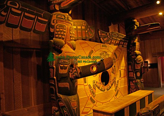 Royal BC Museum Photos, Chief Kwakwabalasam House, Victoria, British Columbia, Canada CM11-29