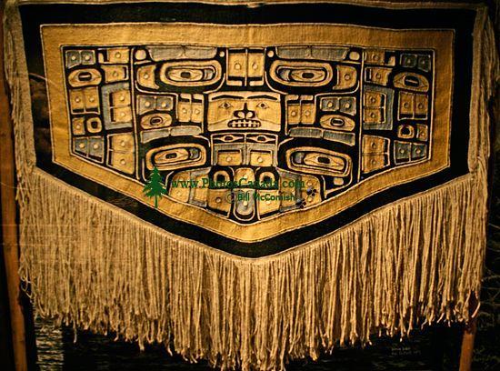 Royal BC Museum Photos, Chilkat Blanket, Victoria, British Columbia, Canada CM11-16