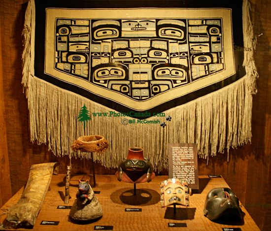 Royal BC Museum Photos, Chilkat Blanket, Victoria, British Columbia, Canada CM11-17