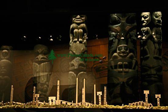 Royal BC Museum Photos, Skedans Haida Village, Victoria, British Columbia, Canada CM11-13