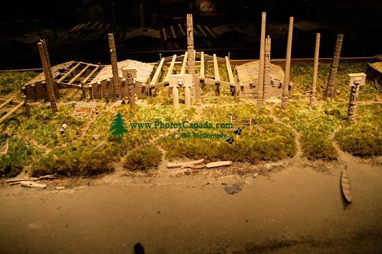 Royal BC Museum Photos, Skedans Haida Village, Victoria, British Columbia, Canada CM11-14