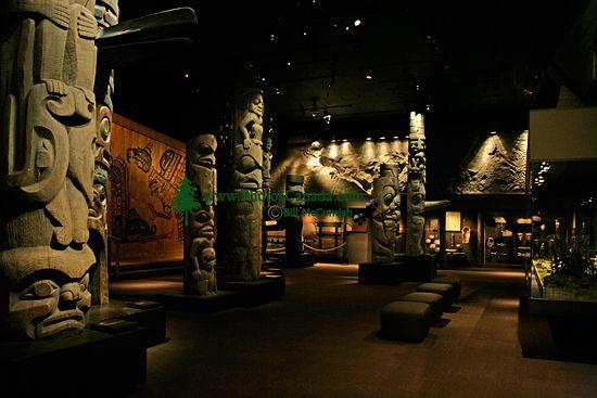 Royal BC Museum Photos, Totem Poles, Victoria, British Columbia, Canada CM11-22