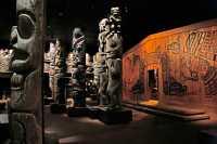 Royal BC Museum Photos, Totem Poles, Victoria, British Columbia, Canada CM11-26