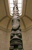 Highlight for Album: Royal Ontario Museum (ROM) Main Entrance Totem Poles