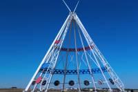 Highlight for Album: Saamis Tepee, Medicine Hat, Alberta, Canada - Alberta Stock Photos