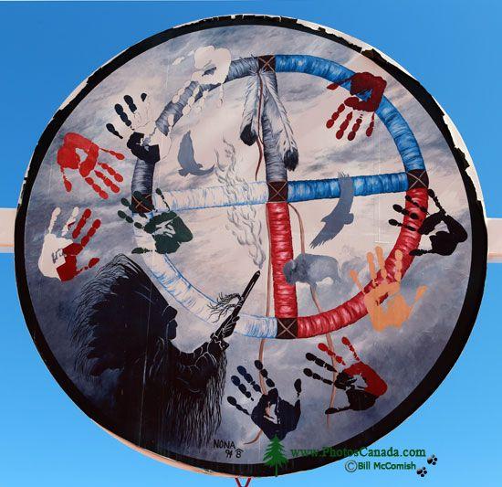 Saamis Tepee, Medicine Hat, Alberta, Canada CMX-004