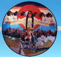 Saamis Tepee, Medicine Hat, Alberta, Canada CMX-008