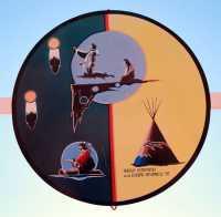 Saamis Tepee, Medicine Hat, Alberta, Canada CMX-013