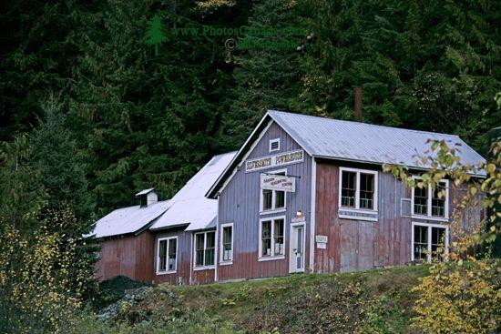 Sandon Ghost Town, West Kootenays, British Columbia, Canada CM11-001