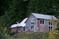 Sandon Ghost Town, West Kootenays, British Columbia, Canada CM11-001