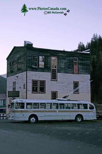 Sandon Ghost Town, West Kootenays, British Columbia, Canada CM11-002