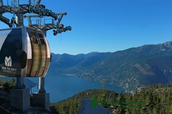 Sea to Sky Gondola, Squamish, British Columbia, Canada CMX 001