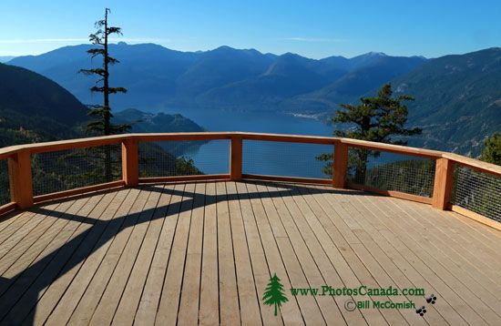 Sea to Sky Gondola, Panoramic Deck, Squamish, British Columbia, Canada CMX 005