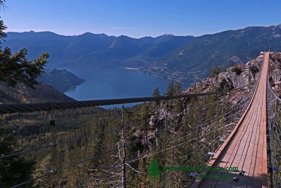Sea to Sky Gondola, Suspension Bridge, Squamish, British Columbia, Canada CMX 003