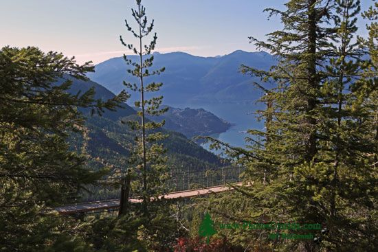 Sea to Sky Gondola,Suspension Bridge,  Squamish, British Columbia, Canada CMX 002