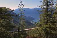 Sea to Sky Gondola,Suspension Bridge,  Squamish, British Columbia, Canada CMX 002