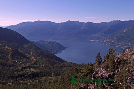 Sea to Sky Gondola, Panoramic Views of Howe Sound, Squamish, British Columbia, Canada CMX 007