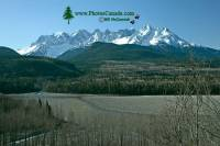 Highlight for Album: Seven Sisters Provincial Park Photos, Skeena River, British Columbia Stock Photos