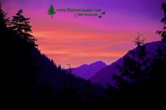 Skookumchuck Sunset, Lillooet Lake, British Columbia CM11-03