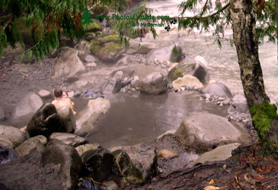 Sloquet Hot Springs, British Columbia, Canada CM11-001
