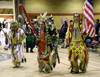 Highlight for Album: Squamish Pow Wow Photos, Totem Hall, Squamish, British Columbia, Canada - Photos of Pow Wow not for sale