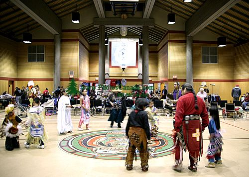 Squamish Pow Wow, Totem Hall, Squamish, British Columbia, Canada CM11-02