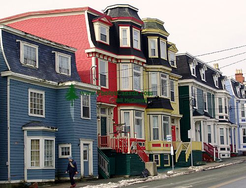 St.Johns, Historic Homes, Newfoundland, Canada 08