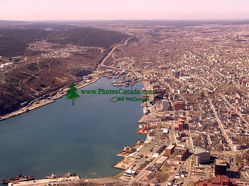 St. Johns, Harbour, Newfoundland, Canada from Signal Hill 02