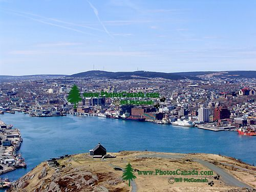 St. Johns, Newfoundland, Canada from Signal Hill 01