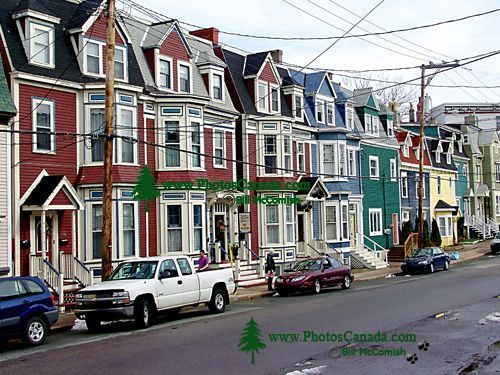 St.Johns, Historic Homes, Newfoundland, Canada  06