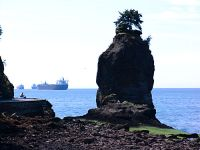 Siwash Rock, Stanley Park Seawall, Vancouver, British Columbia, Canada 05