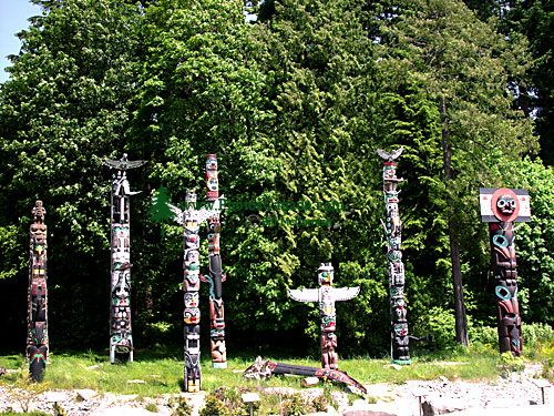 Stanley Park Totems, Vancouver, British Columbia, Canada 03