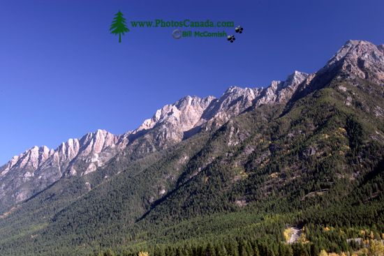 Steeples Mountain Range, Cranbrook Region, British Columbia, Canada CM11-002