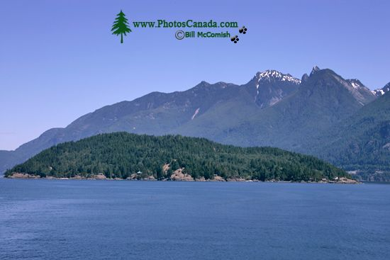 Sunshine Coast, BC Ferry Views, British Columbia, Canada CM11-001