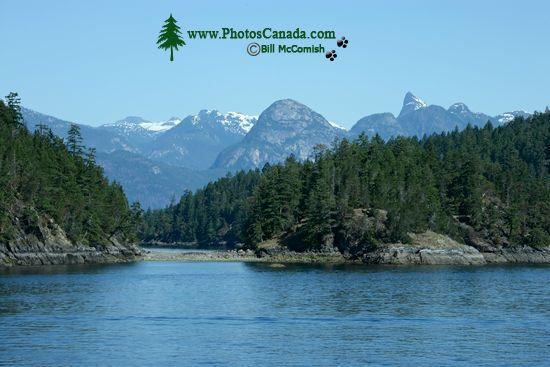 Sunshine Coast, BC Ferry Views, British Columbia, Canada CM11-003