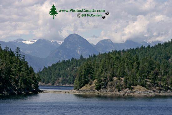 Sunshine Coast, BC Ferry Views, British Columbia, Canada CM11-009