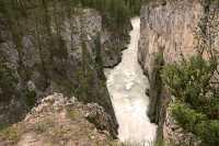 Sunwapta Falls, Icefields Parkway, Jasper National Park, Canada CM11-07