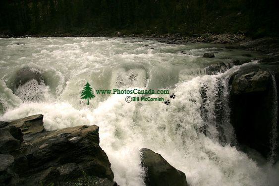 Sunwapta Falls, Icefields Parkway, Jasper National Park, Canada CM11-03