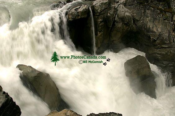 Sunwapta Falls, Icefields Parkway, Jasper National Park, Canada CM11-02