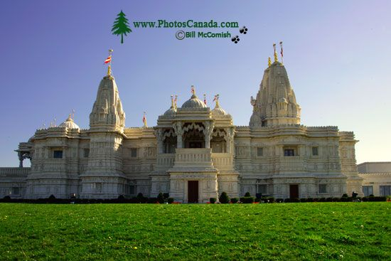 Swaminarayan Hindu Mission Temple, Toronto, Ontario CM-1202