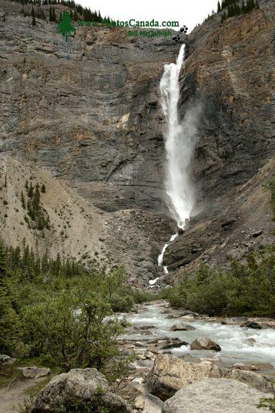 Takakkaw Falls, Yoho National Park, British Columbia, Canada CM11-009