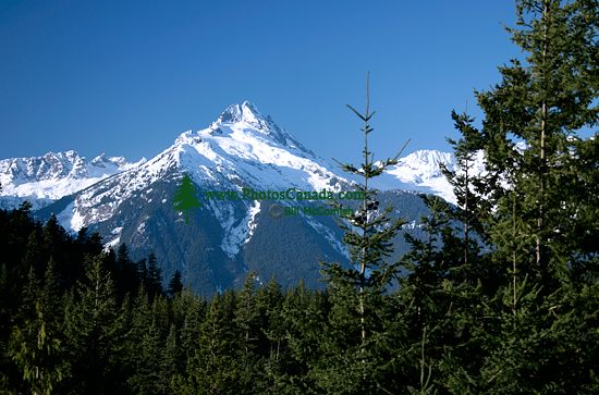 Tantalus Mountain Range, Squamish, British Columbia, Canada CM11-001