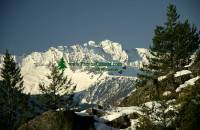 Highlight for Album: Tantalus Mountain Range Photos, January 2009, Squamish, British Columbia Stock Photos
