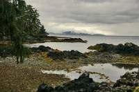 Highlight for Album: Tanu Photos, T'aanuu Lnagaay, Haida Heritage Site, Gwaii Haanas National Park Reserve, Queen Charlotte Islands, British Columbia, Canadian National Parks Stock Photos